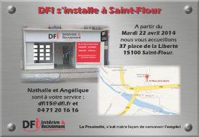 Ouverture Agence Saint Flour DFI